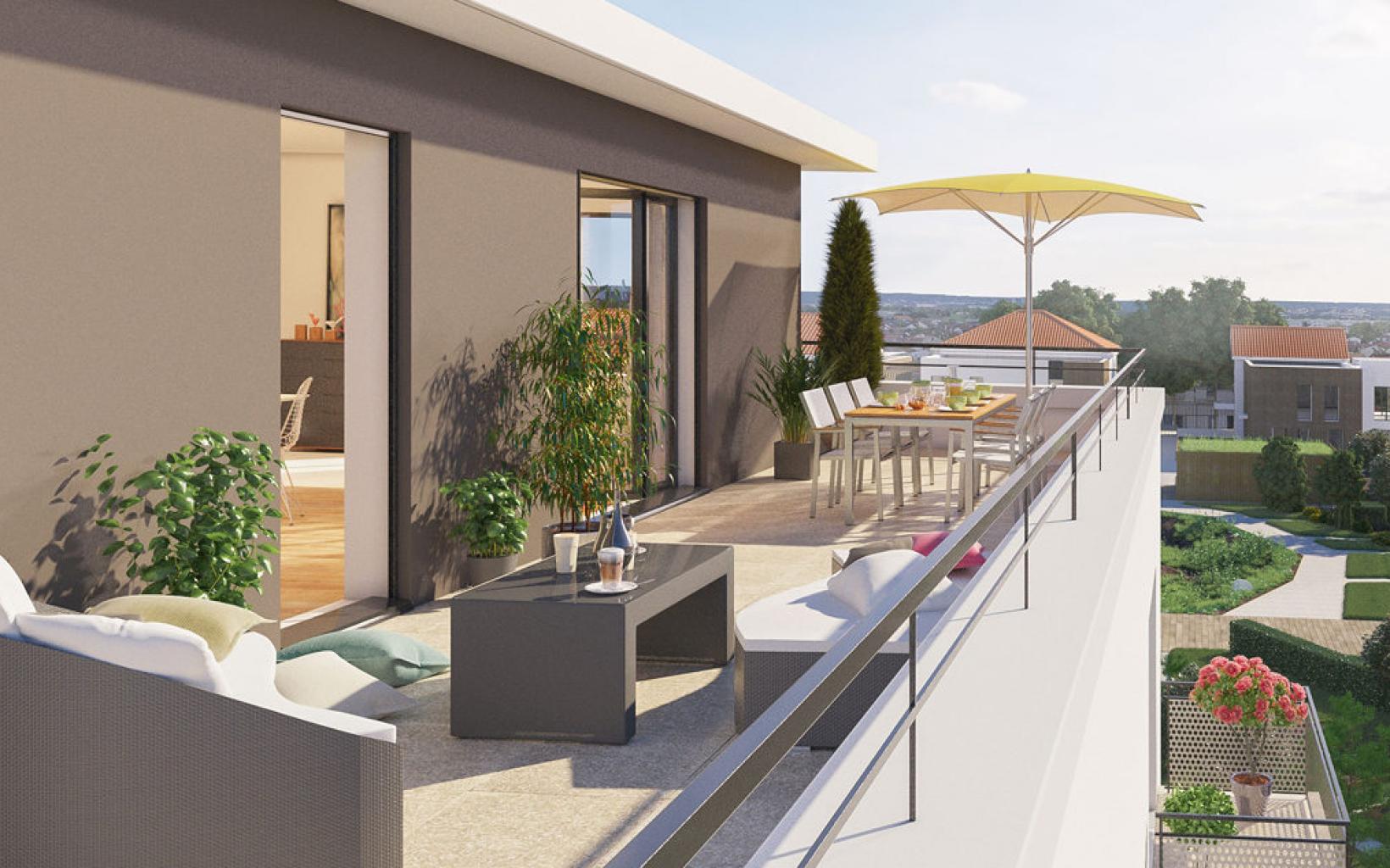 plus immo programmes immobiliers cormeilles en parisis ile de france. Black Bedroom Furniture Sets. Home Design Ideas