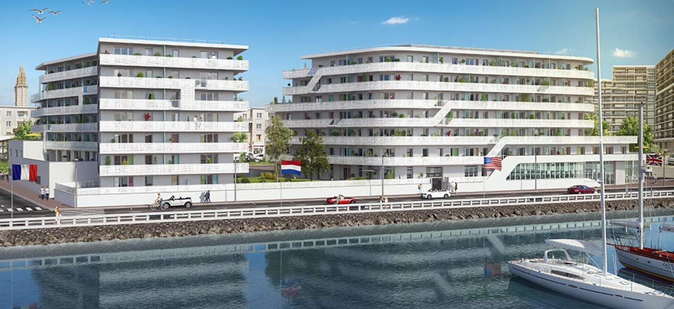 Plus immo programmes immobiliers havre haute normandie - Nettoyage terrasse jardin le havre ...