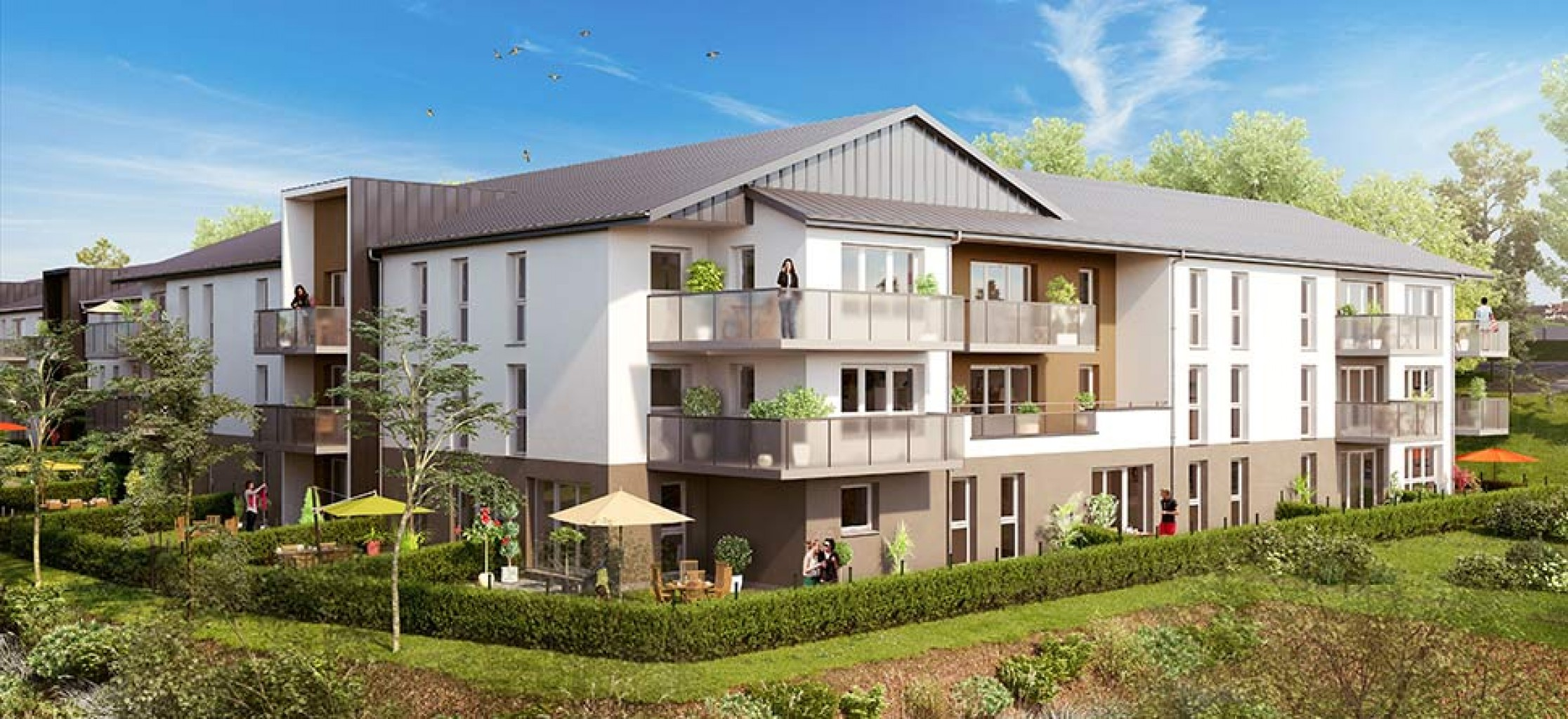 Plus immo programmes immobiliers houlme haute normandie for Immobilier du neuf