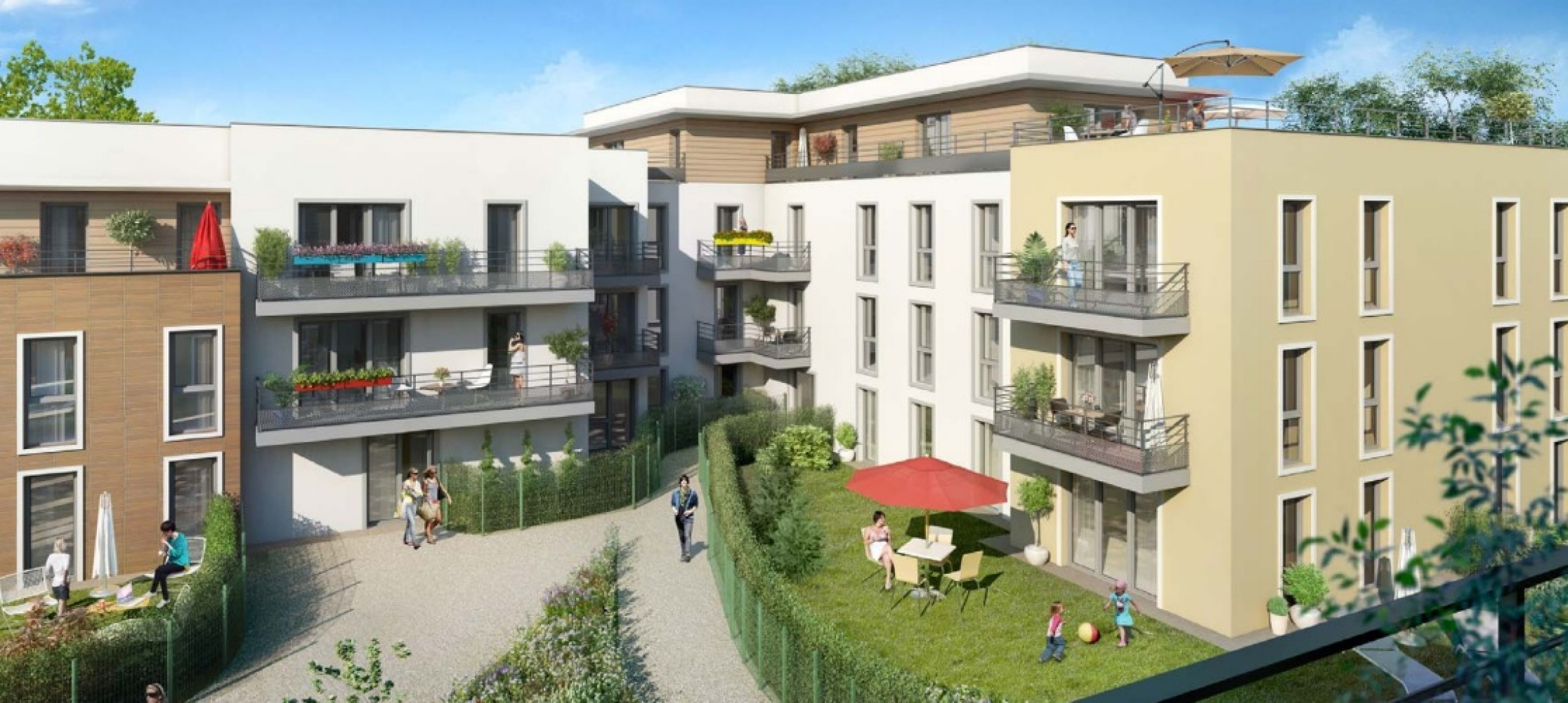 Plus immo programmes immobiliers mareil marly ile de for Piscine village neuf horaires