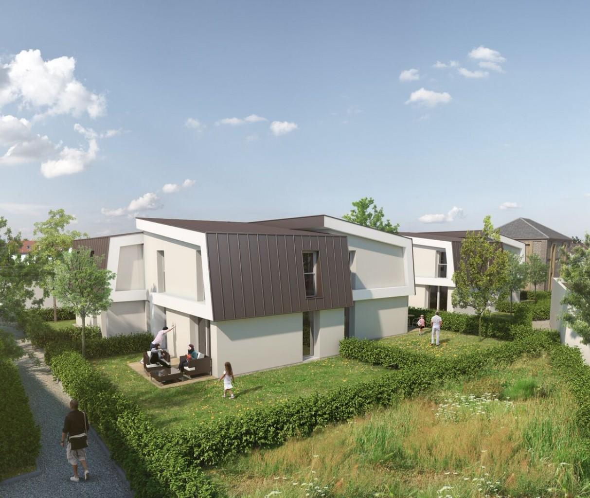 Plus immo programmes immobiliers rouen haute normandie - Maison jardin trinidad rouen ...