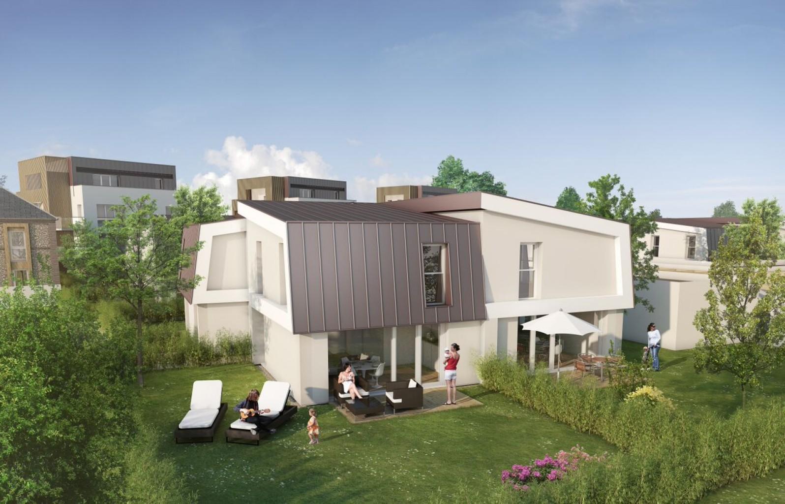 Plus immo programmes immobiliers rouen haute normandie - Maison rouen jardin des plantes montreuil ...