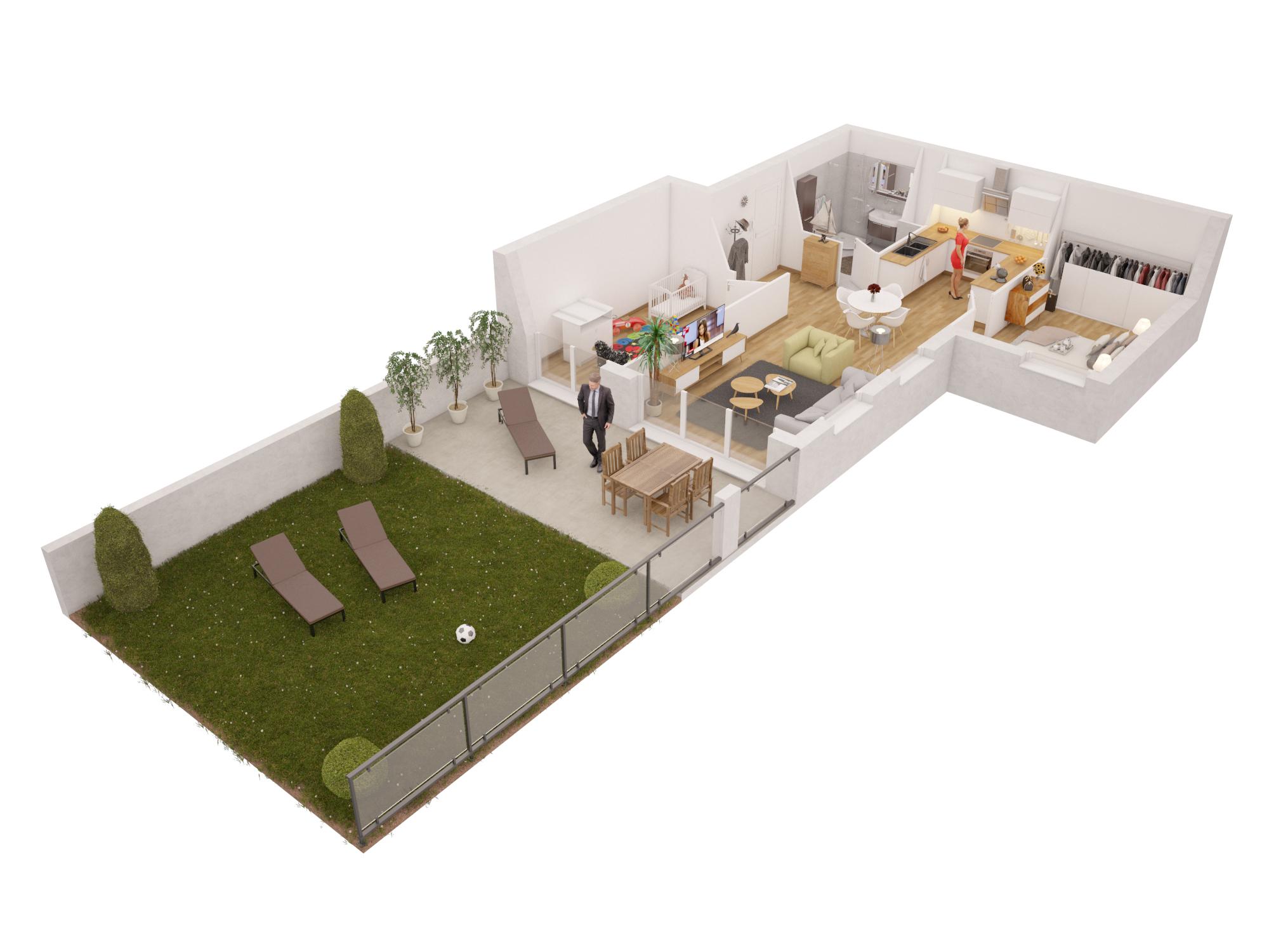 Appartement neuf Bapeaume-lès-rouen promoteur at'ome pierre de seine