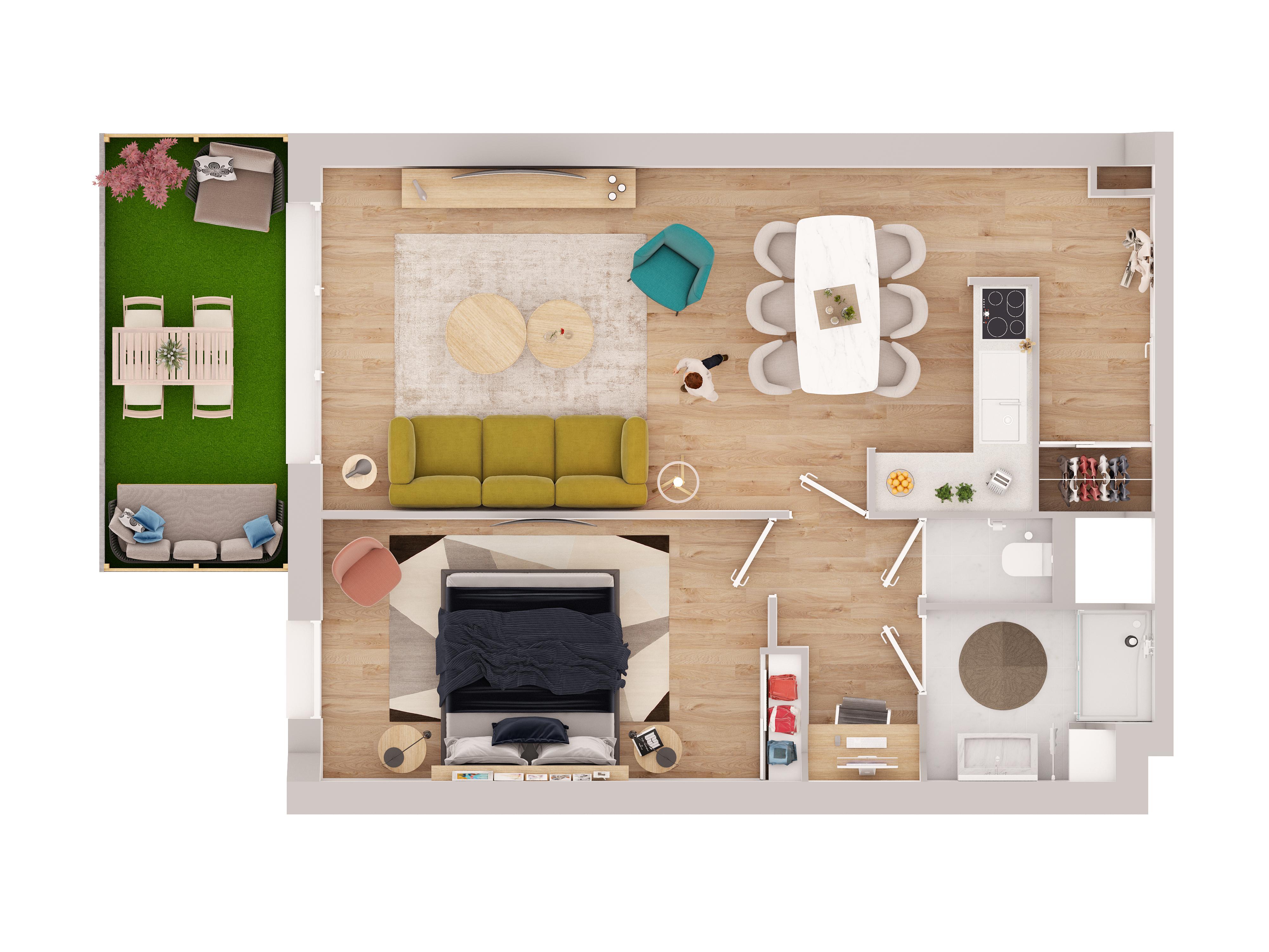 Appartement neuf Vinci Adim Primmea Petit-Quevilly 76140 LOI PINEL