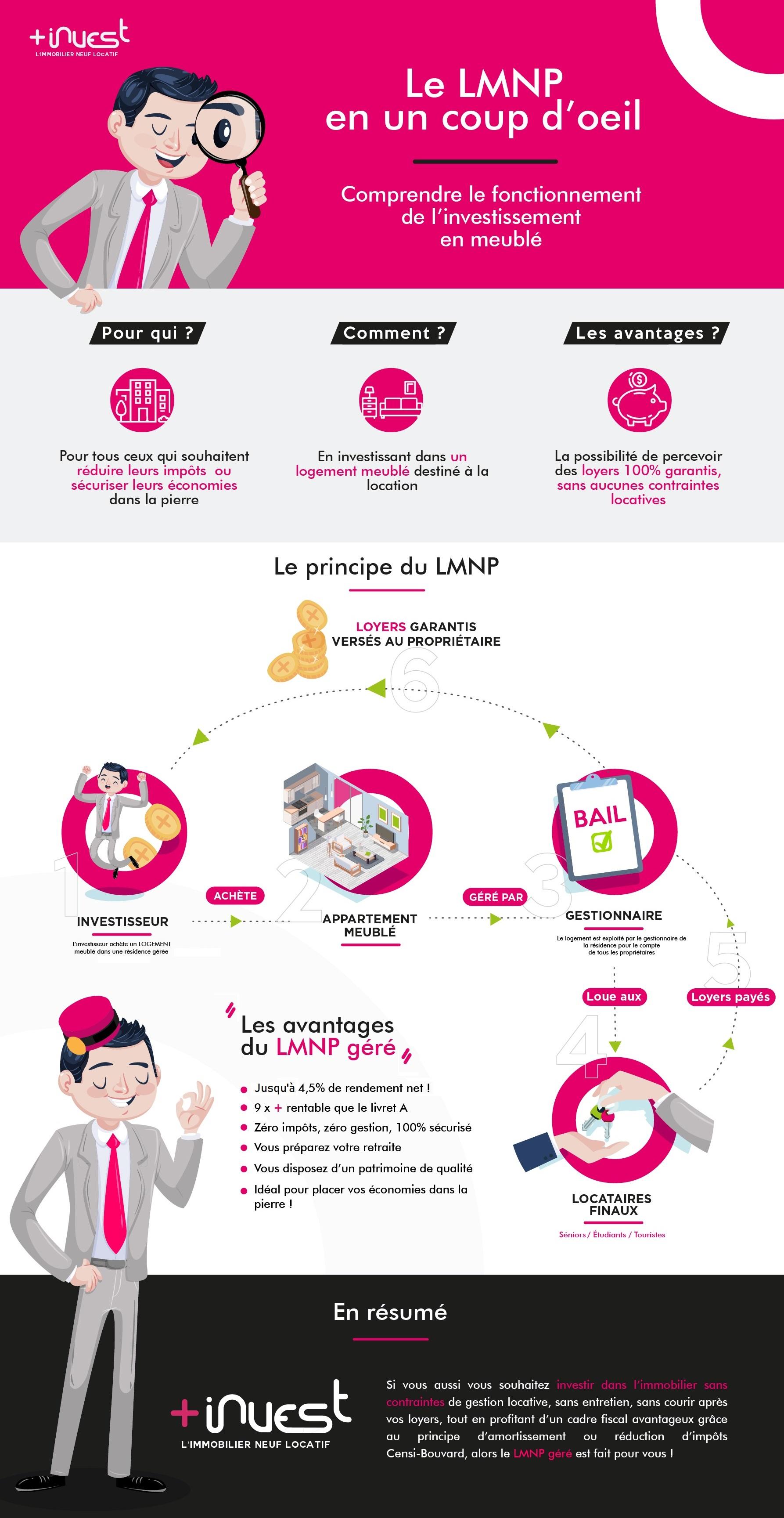 Infographie LMNP : qu'est-ce que c'est ?