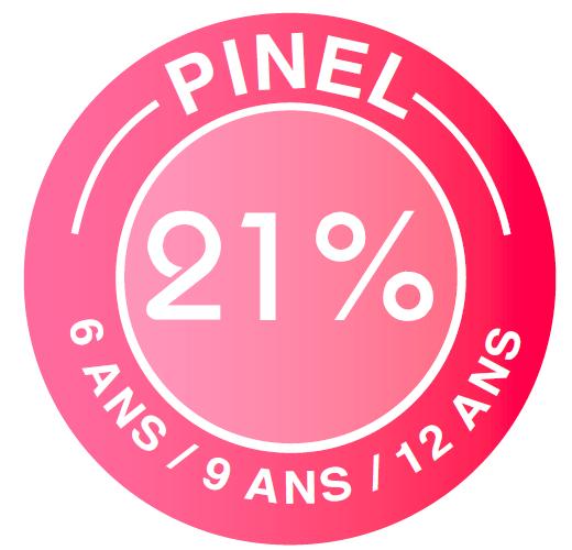 Loi PINEL : jusqu'à 21% suir 6, 9 ou 12 ans