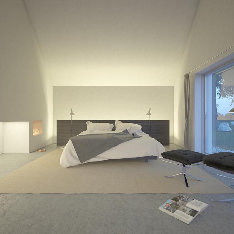 Vue intérieure de la chambre
